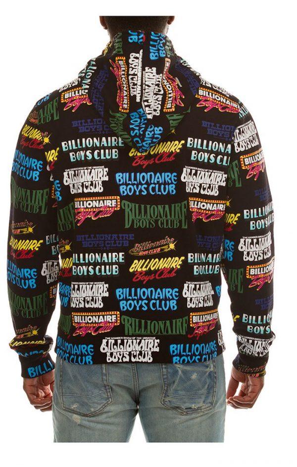 Billionaire Boys Club BB Showtime Zip Hoodie Back